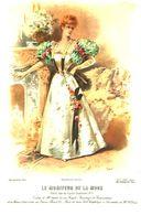 Le Moniteur De La Mode (den Bildern Nach Mode Um 1900) / Druck, Entnommen Aus Kalender / Datum Unbekannt - Books, Magazines, Comics