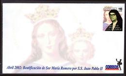 Costa Rica 2002 Beatification Of Maria Romero Unmounted Mint. - Costa Rica