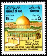 Iraq 1977 Palestinian Welfare Unmounted Mint. - Iraq