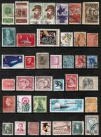 WORLDWIDE---Collection Of USED DL-563 - Stamps