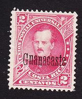 Costa Rica, Guanacaste, Scott #44, Mint No Gum, Fernandez Overprinted, Issued 1888 - Costa Rica