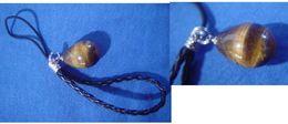 Decorative Strap : Power Stone : Tiger's Eye - Charms