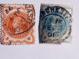 GRANDE-BRETAGNE  1887-1900   LOT# 24 - 1840-1901 (Victoria)