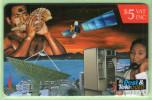 Fiji - 1995 FPTL Corporate Phonecards - $5 Card Phone - FIJ-072 - VFU - Fiji