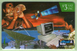Fiji - 1995 FPTL Corporate Phonecards - $3 Computer - FIJ-070 - VFU - Fiji