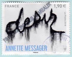FRANCE 2018 - Annette Messager Désir - Oblitéré - France