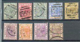 D 217 - Cote De L'Or - YT 11-13 à 20 ° Obli - Fili CA - Côte D'Or (...-1957)