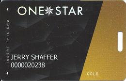 Cherokee Casinos OK - Slot Card - LVP782190-1 Over Mag Stripe - Casino Cards