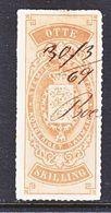 DANMARK  REV.  2  (o)   1862  Issue. - Revenue Stamps