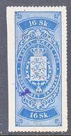 DANMARK  REV.  3  (o)   1862  Issue. - Revenue Stamps
