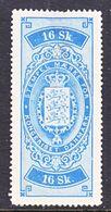 DANMARK  REV.  11  * - Revenue Stamps