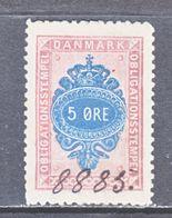 DANMARK  REV.  O B 19  (o) - Revenue Stamps