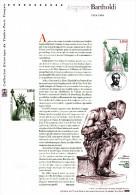 """(Prix à La Poste = 5 €) 2004 Document Officiel N° YT 3639 """" AUGUSTE BARTHOLDI / STATUE DE LA LIBERTE """". - Documentos Del Correo"""