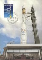 71726351 Raumfahrt Traegerrakete Ariane Kourou Franzoesisch Guyana Flug - Spazio
