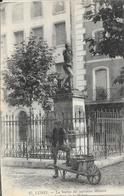 Lunel - La Statue Du Capitaine Ménard Sur La Place De La Mairie - Carte N° 27 - Lunel