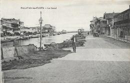 Palavas-les-Flots - Le Canal, Filets De Pêche - Edition Capestan, Carte Non Circulée - Palavas Les Flots