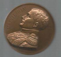 Médaille , Napoleon Empereur , Mémorial De Ste HELENE , 1821 ,1840 , 2 Scans , Frais F 2.85 E - Royal / Of Nobility