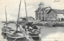 Palavas-les-Flots - Le Grand Casino Granier, Barques De Pêche - Carte M.T.I.L. - Palavas Les Flots