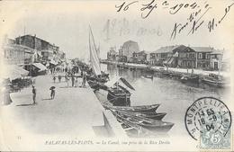 Palavas-les-Flots - Le Canal, Vue Prise De La Rive Droite, Barques De Pêche - Carte ND Phot. N° 53 Dos Simple - Palavas Les Flots