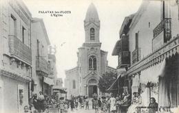 Palavas-les-Flots - Rue De L'Eglise - Edition Capestan - Carte Animée, Non Circulée - Palavas Les Flots