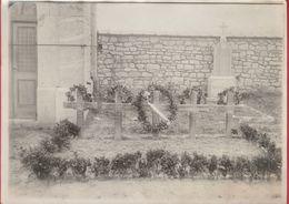 Soumoy ... Cimetière ... Tombes Des 5 Aviateurs Anglais  - Photo De 19 Cm / 13 Cm - Cerfontaine