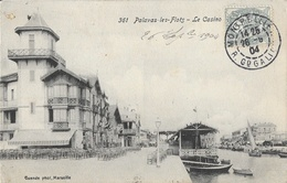 Palavas-les-Flots - Le Grand Casino Granier - Carte Guende Phot. 1904 - Palavas Les Flots