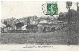 Meuse CHALAINES Carte Panoramique 1 - France