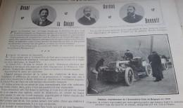 1902 COUPE GORDON BENNETT - VAUTRAIT DE TARDAIS - POIDS HALTERES - SANTOS-DUMONT CAP SAINT MARTIN - HISTOIRE DU MUSCLE - Livres, BD, Revues