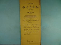 Acte Notarié 1894 Vente Par Brifflot De Salles à Hardy De Cul-des-Sarts /16/ - Manuscrits