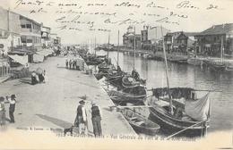 Palavas-les-Flots - Vue Générale Du Port Et De La Rive Gauche - Phototypie Lacour - Carte 1922 Non écrite Au Dos - Palavas Les Flots