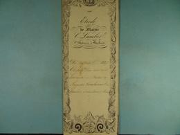 Acte Notarié 1847 Vente Par Guerin De Baileux à Coulonval De Vaulx /17/ - Manuscrits