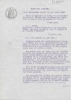 Document Exceptionnel Convention Compagnie AIR BLEU Et PTT 1936 Avec Signature Georges MANDEL Et Marcel DEAT - Historical Documents