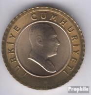 Türkei KM-Nr. : 1168 2007 Stgl./unzirkuliert Bimetall Stgl./unzirkuliert 2007 50 Yeni Kurus Atatürk - Türkei