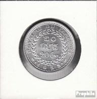 Kambodscha KM.-Nr.: 52 1953 Vorzüglich Aluminium 1953 20 Centièmes - Cambodia