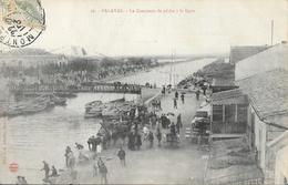 Palavas-les-Flots - Le Concours De Pêche à La Ligne 1907 (?) - Edition L-J. Albaille - Palavas Les Flots