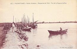 Valras-Plage (Hérault) - Station Balnéaire, Perspective De L'Orb, Vue De La Digue Et Le Port - Carte N° 17 Non Circulée - Palavas Les Flots