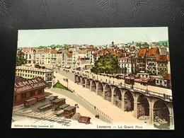 347 - LAUSANNE Le Grand Pont (LEMAN'S Chocolats Cacaos) - VD Waadt