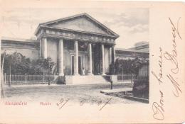 ALTE  AK  ALEXANDRIA / Ägypten  - Museum - Gelaufen 1907 - Alexandria