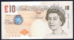 England - 10 Pounds 2000 - P 389e - 1952-… : Elizabeth II