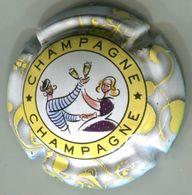 CAPSULE-794c-CHAMPAGNE Série Guingette Jaune - Champagne