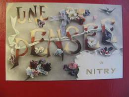 CPA - NITRY - UNE PENSEE DE NITRY - Frankreich