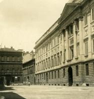 Italie Milan Palais Belgioioso & Maison Manzoni Ancienne Photo Stereo NPG 1900 - Stereoscopic