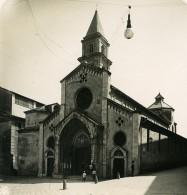 Italie Vintimille Cathedrale Ventimiglia Ancienne Photo Stereo NPG 1900 - Stereoscopic