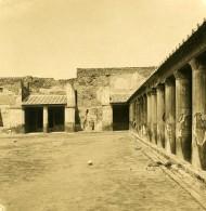 Italie Pompeii Therme De Stabia Ancienne Photo Stereo NPG 1900 - Stereoscopic