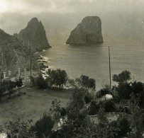 Italie Capri Villa Krupp Ancienne Photo Stereo NPG 1900 - Stereoscopic