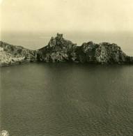 Italie Amalfi Capo Di Conca Ancienne Photo Stereo NPG 1900 - Stereoscopic