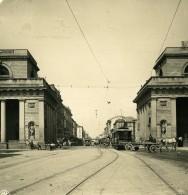 Italie Milan Porte De Venise Porta Venezia Ancienne Photo Stereo NPG 1900 - Stereoscopic