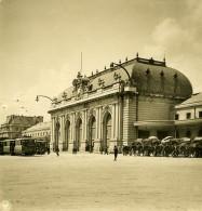 Italie Milan Gare Centrale Ancienne Photo Stereo NPG 1900 - Stereoscopic