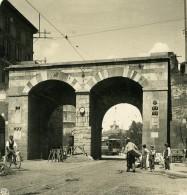Italie Milan Nouvelle Porte Portoni Di Porta Nova Ancienne Photo Stereo NPG 1900 - Stereoscopic