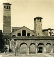 Italie Milan Saint Ambroise Basilica Of Sant'Ambrogio Ancienne Photo Stereo NPG 1900 - Stereoscopic